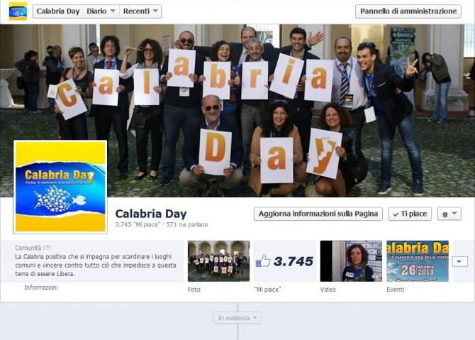 Calabriaday su Facebook